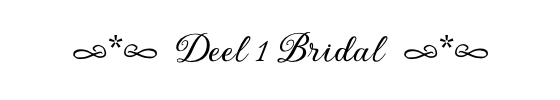 deel 1 bridal