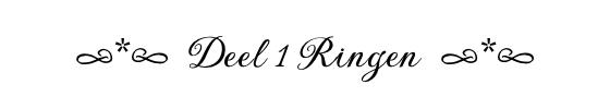 deel 1 ringen