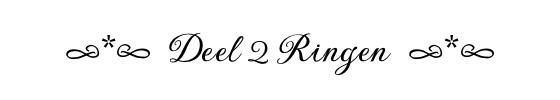 deel 2 ringen