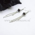 Lange Edelsteen Oorbellen / Long Gemstone Earrings