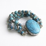 3 rij armband / 3 row bracelet from violetmoon.nl