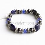 Lapis lazuli bracelet from violetmoon.nl