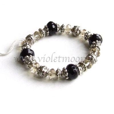 Onyx Armband / Onyx Bracelet from violetmoon.nl
