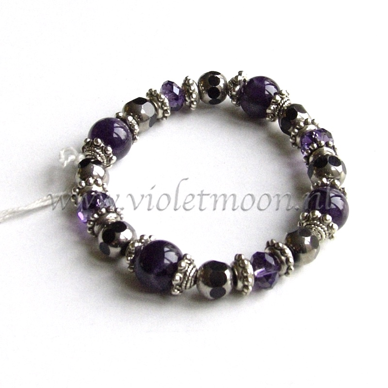 ametist armband / amethyst bracelet