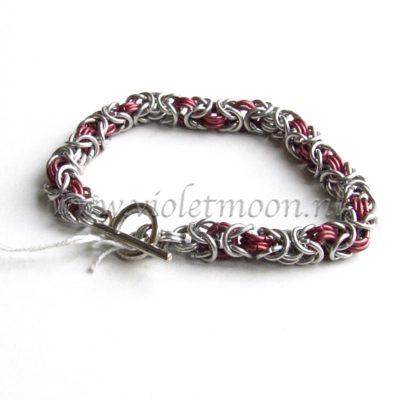 Byzantijn Armband / Byzantine Bracelet from violetmoon.nl
