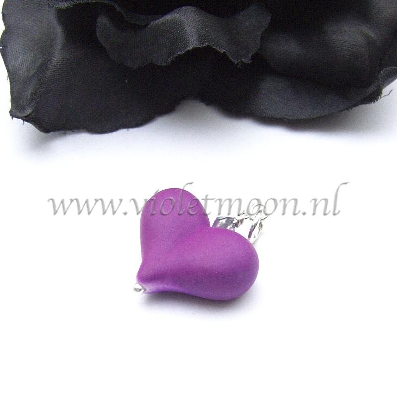 neon puff heart