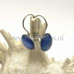 Vibrant Blue Kleurige Oorbellen / Colorful Earrings from violetmoon.nl