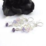 Oorbellen Aurora / Color Cascading Earrings Aurora from violetmoon.nl