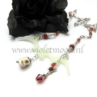 halloween theme jewelry from violetmoon.nl