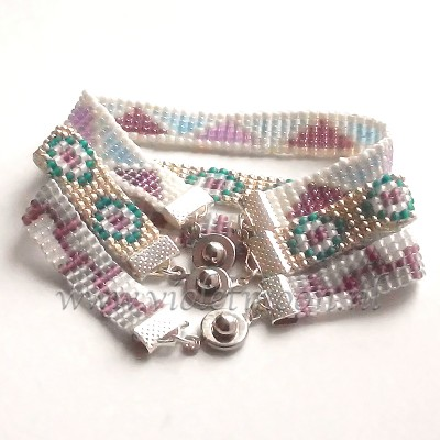 narrow beaded band bracelets theme jewelry
