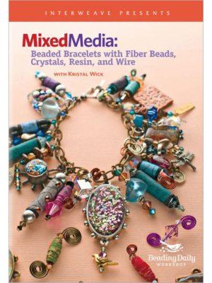 fiber and mixed media