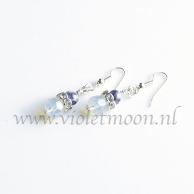 Opaliet oorbellen / Opalite earrings from violetmoon.nl