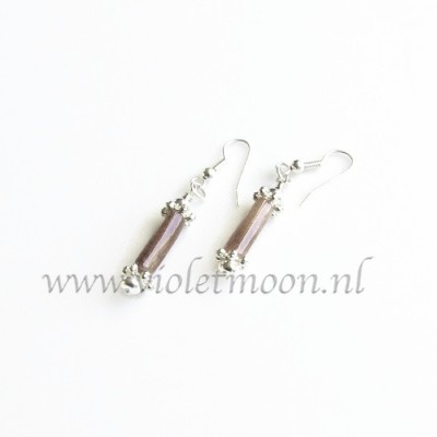 Purple aventurine earrings by violetmoon.nl