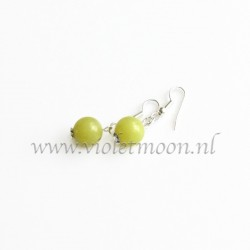 Olivine Jade earrings