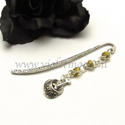 pagemarker doggy bowl yellow chain maille