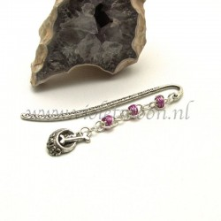 pagemarker doggy bowl purple chain maille