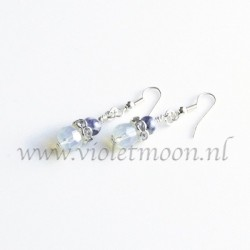 Opalite and Sodalite earrings.