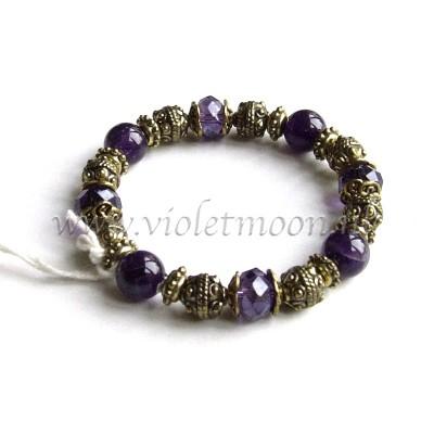 february birthstone - Amethyst Bracelet from violetmoon.nl