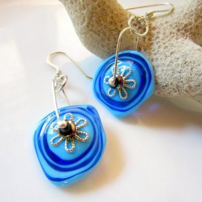 earrings by jewelry art by dawn
