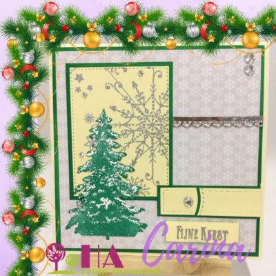 A silver green Christmas