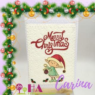 An unusual Christmas card