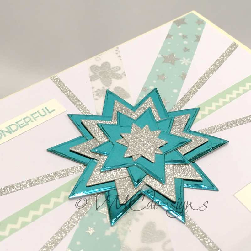 Sketch: a star and washi tape